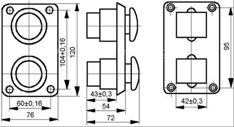 пке 222 2у2 схема подключения