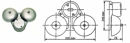 Электросервис,044-501-37-45,Звонок громкого боя МЗМ-1, МЗ-1
