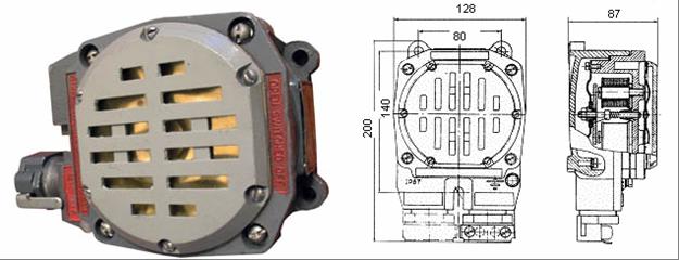 Электросервис,044-501-37-45,Сирена сигнальная типа ПВСС