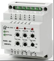 Электросервис,044-501-37-45,Трехфазное реле напряжения и контроля фаз РНПП-301